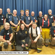 Chatham School Fire Prevention Visit 2019