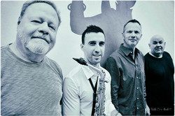 With the David Ake Quartet