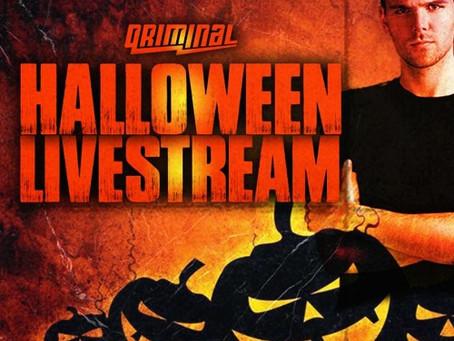Qriminal Liveset @ Halloween Livestream (31-10-2020)