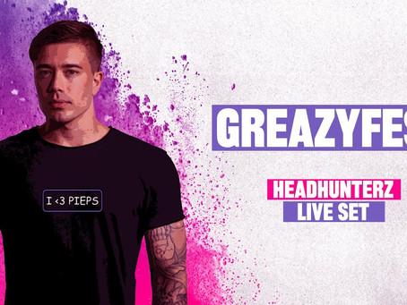 Headhunterz @ GREAZYFEST 2021