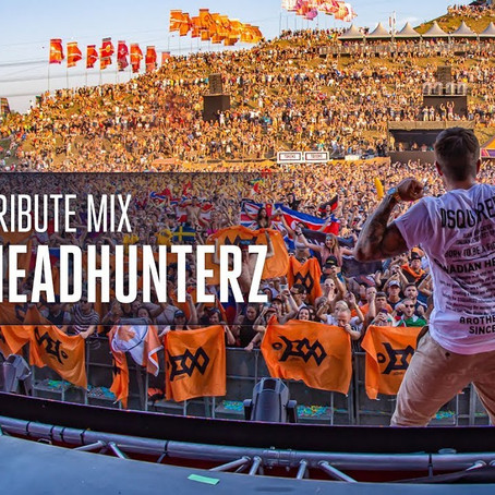 Headhunterz - Tribute Mix by Scantraxx (2019)