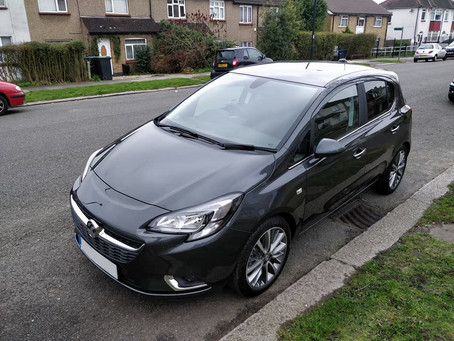 My Vauxhall Corsa 2017 - Diamond Edition