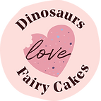 Dinosaurs Love Fairy Cakes Logo