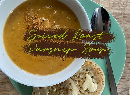 Spiced Roast Parsnip Soup