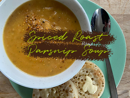 Spiced Roast Parsnip Soup