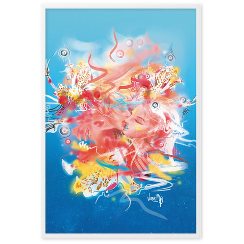 El Beso - Framed Art Print