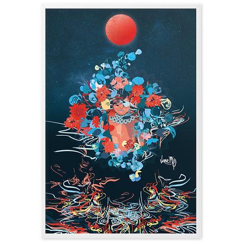 Embera Magic - Colombia version - Framed Art Print