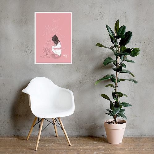 The Magic of Nature - Framed Art Print