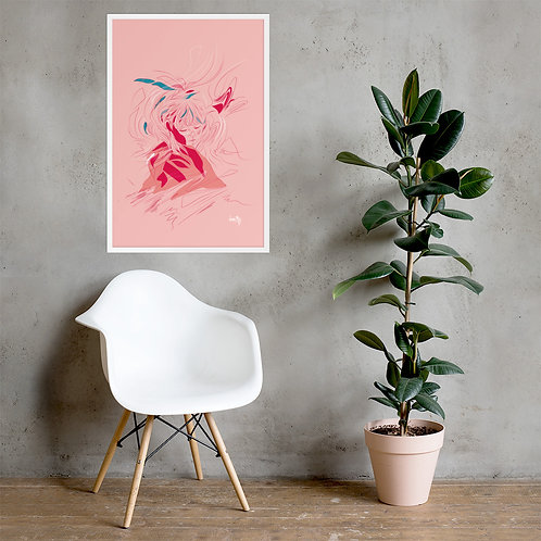 Ruana - Framed Art Print