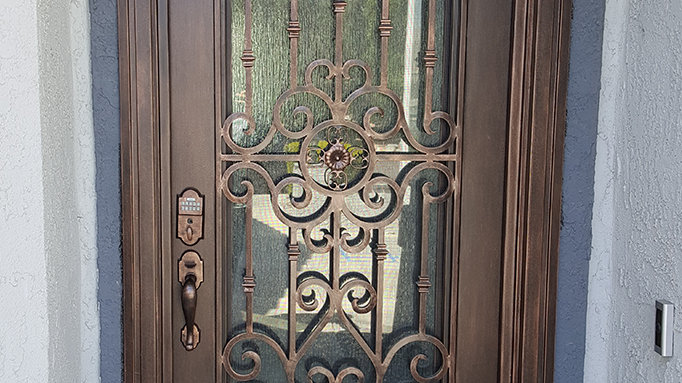 Orange County Door
