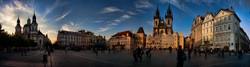 almost-Sunset-Prague-panorama