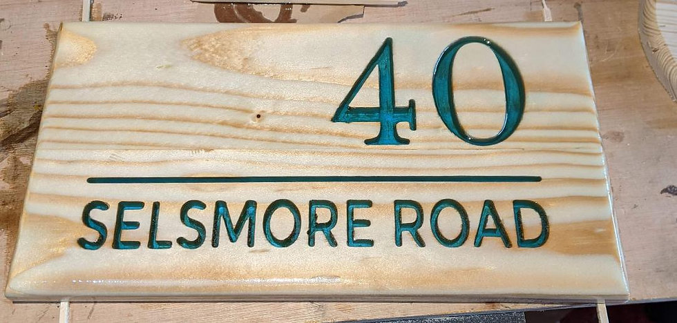 "12"" x 8"" Sign"