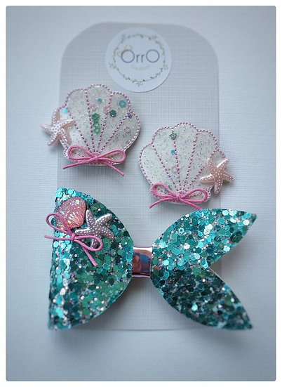 Mermaid Clip Set