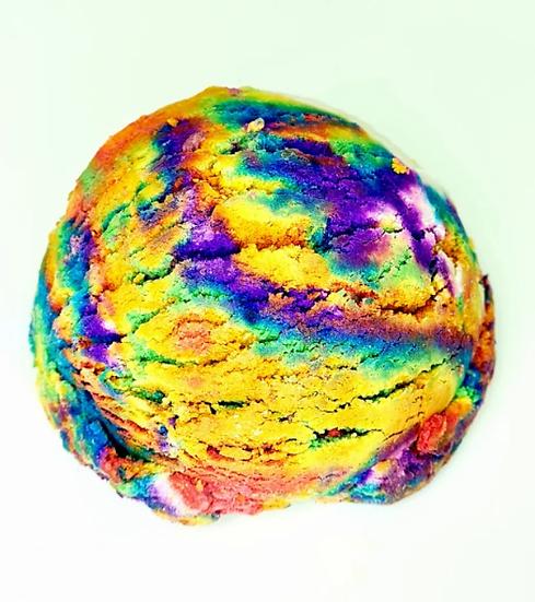 Rainbow Bubble Bathbomb