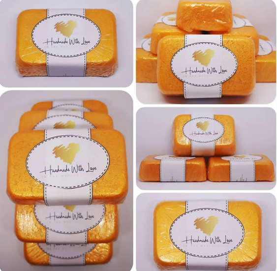 Gold and Platinium Bullion Beeswax Body Scrub