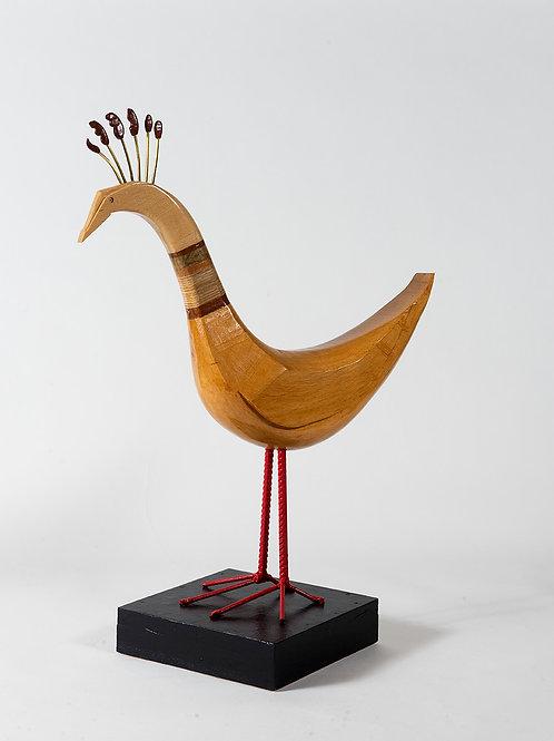 Decorated bird