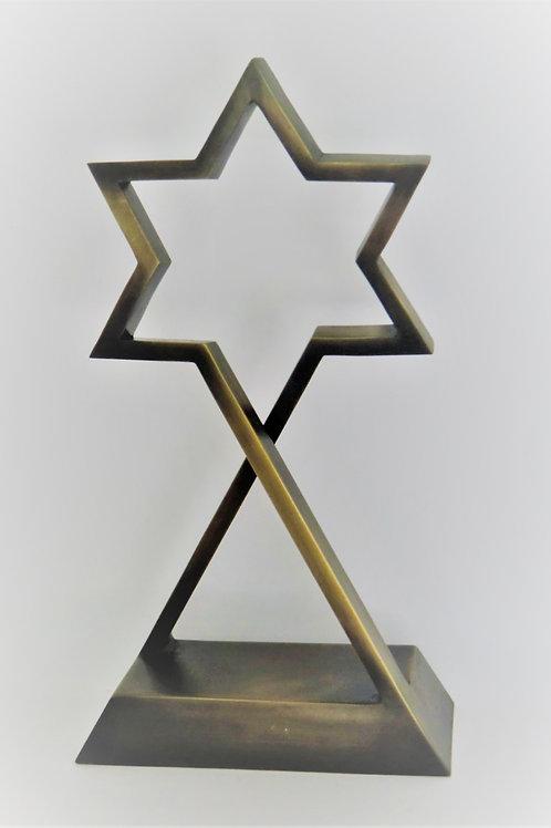 "Star of David, 60 cm. (24"") high"