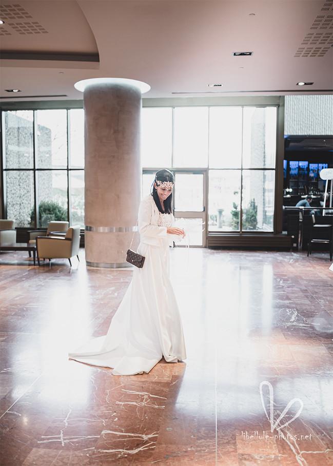 Future marié. Photo de mariage.