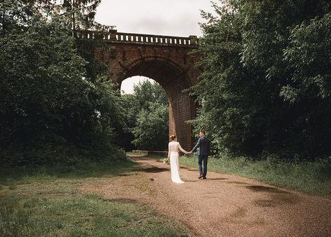 Jeune mariés. Séance photos près de Romanswiller.