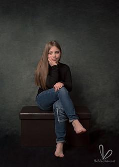Portrait de fille à Molshiem