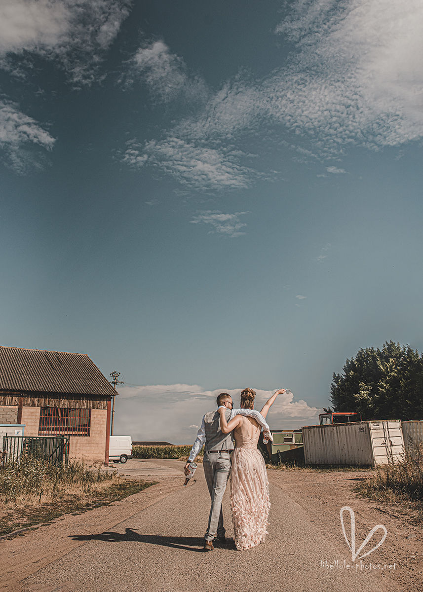 Nouveaux mariés. Shooting Vallf, juillet 2020.