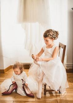 Les préparatifs de mariage. Les enfants.