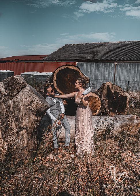 Nouveaux mariés. Shooting  en Valff, Juillet 2020.