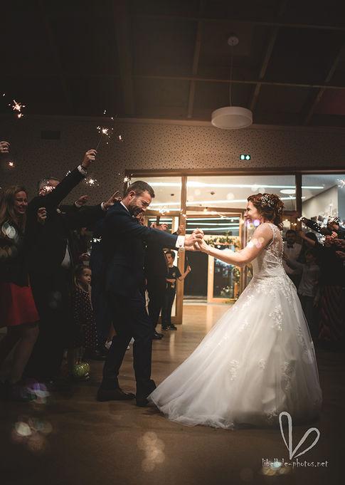 Danse de mariage. Photo de mariage.