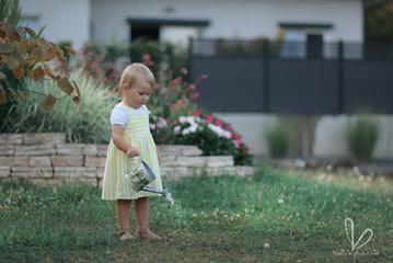 Photo d'enfant en plein air