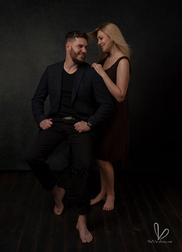 Photo de couple en studio photos à Molsheim