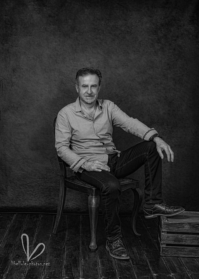 Photo d'homme. Réalisé par Libellule-Photos.