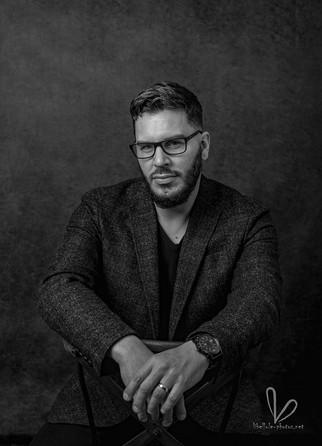 Portrait d'homme avec des lunettes. Shooting Molsheim/Strasbourg