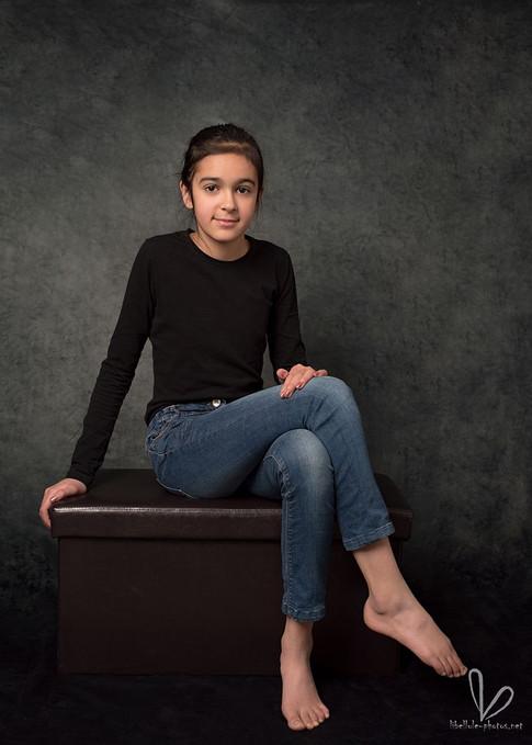 Photo d'enfant en studio photo à Molsheim