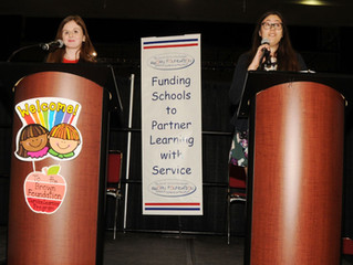FSTS Founders Deliver Keynote Speech at Brown Foundation Fall Service Learning Event in New Orleans
