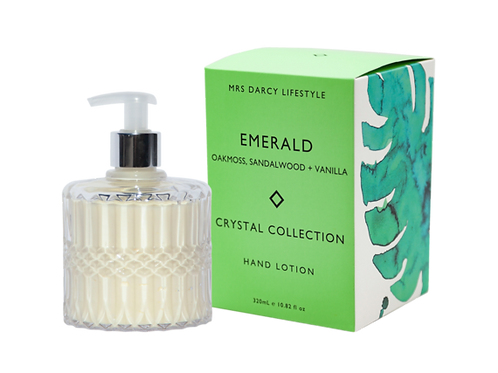 Hand Lotion - Emerald (Oakmoss, Sandalwood & Vanilla)