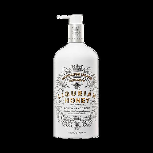 K.I. Ligurian Honey Body & Hand Crème 500ml