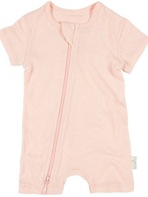 Dreamtime Organic Onsie Short Sleeve Blush