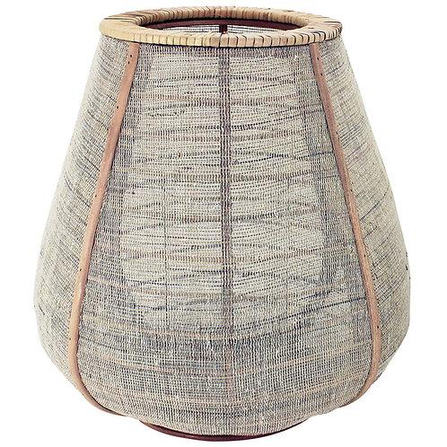 Linen Bamboo Lantern - Large