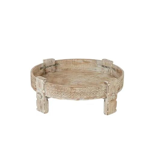 Idha Wood Side Table