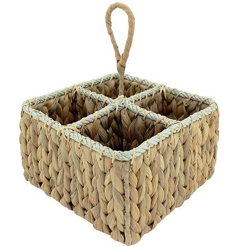 Basket Wine Caddy Natural