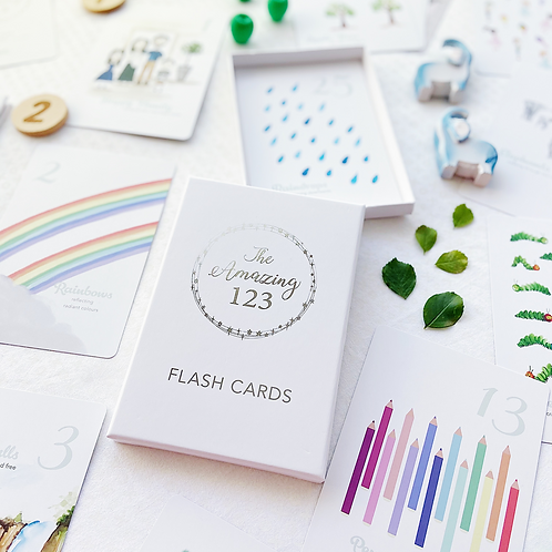The Amazing 123 Flash Cards