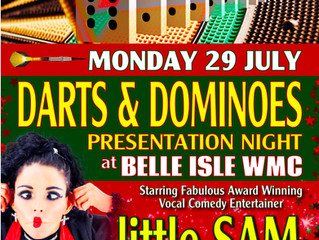 Darts and Dominoes Presentation Night