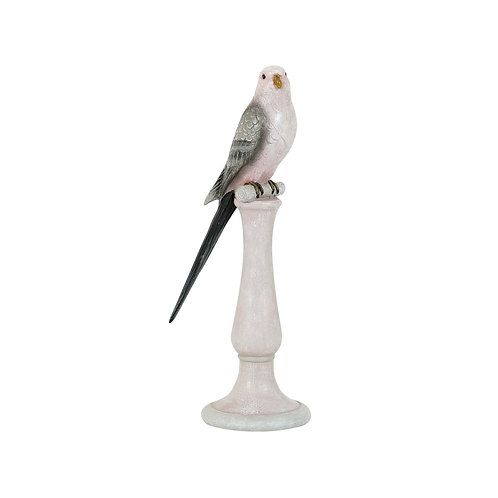 Pippi Resin Pink Grey Finch Small