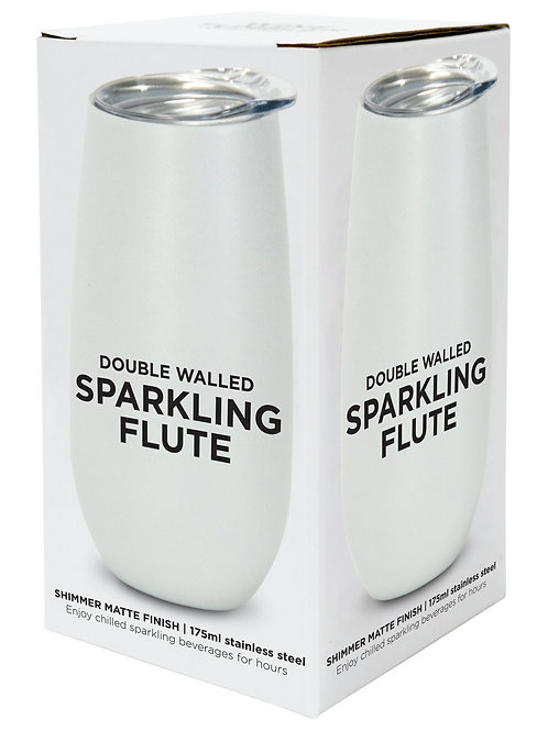 Sparkling Flute Stainless Steel - Pearl