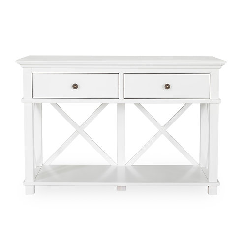 Sorrento 2 Draw White Console