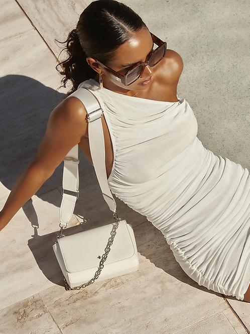 Becca Crossbody Bag - White