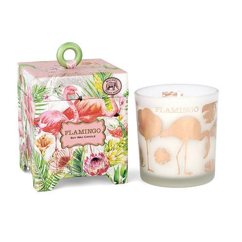 Candle Soy Wax Flamingo