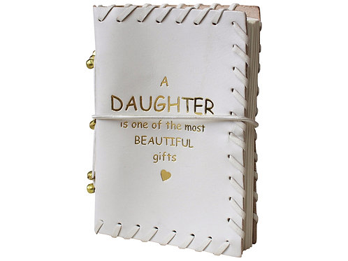 Leather Notebook - Daughter