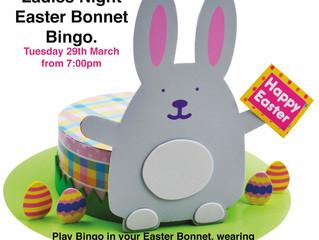 Easter Bonnet Bingo