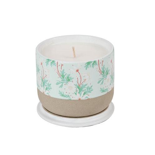 Candle Flannel Flower w/ Louise Jones